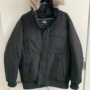 Men's winter coat. North Face Gotham jacket.